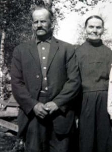 Karl Sebbfolk med hustrun Anna Maria.