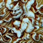 netsuke japan demon mardröm psykologi skräck monster magi mytologi saga wiki c
