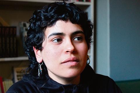 Fokus på den kvinnliga gerillasoldaten