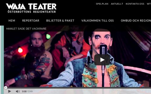 Wasa Teater kan bli Årets teater