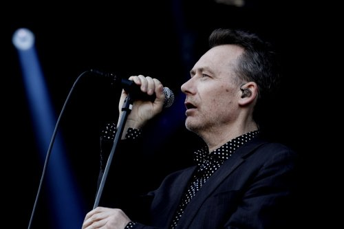 Jim Reid i The Jesus and Mary Chain. Foto: Janne Wass