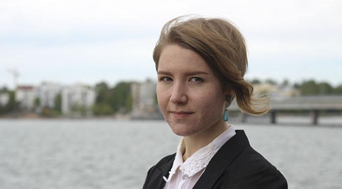 Lilian Tikkanen är Ny Tids sommarpraktikant