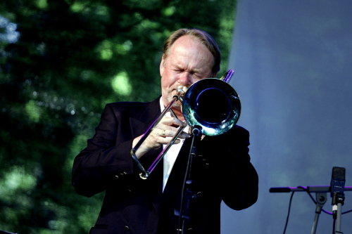 Ulf Johansson Werre med Swedish Swing Society på Baltic Jazz 2015. Foto: Janne Wass