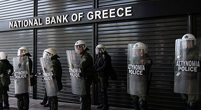 Finanskris tvingar arme att banta 3