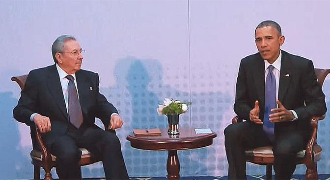 Kuba, Iran och Obama