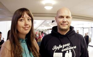 Mia Haglund och Dan Koivulaakso.