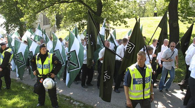 Det fascistiska våldet ökar i Finland