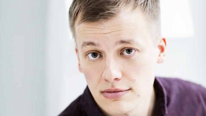 Kaj Korkea-aho. Kuva Pekka Holmström 2015.
