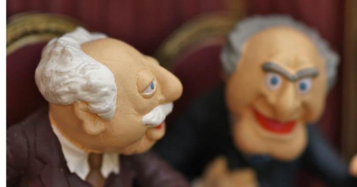 statler waldorf muppets teater kritik publik foto flickr kevin dooley