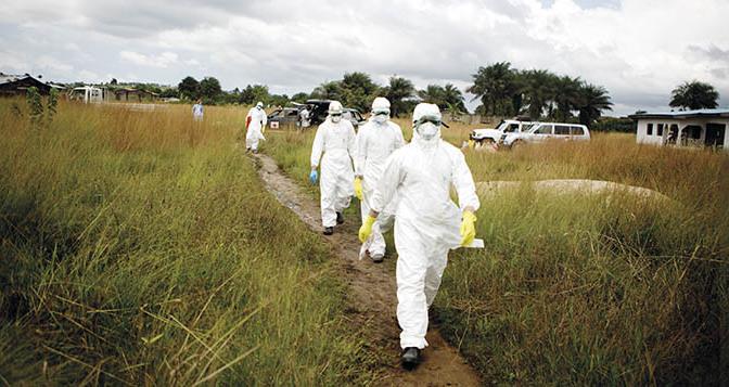 Ebolans hjältar – utstötta och ärrade