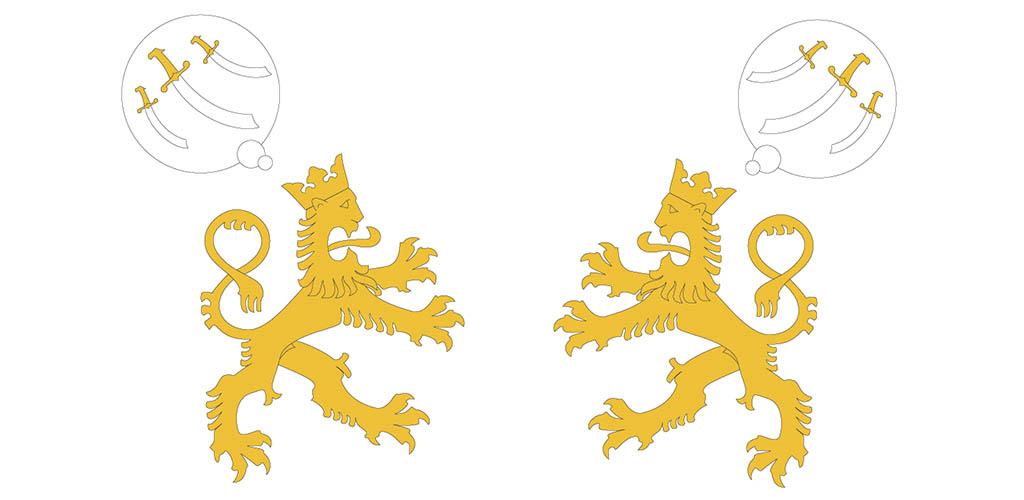 finland lejon nationalism illu od
