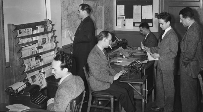 En reporters försvarstal