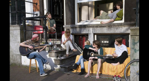 kollektiv amsterdam hipster musik band ungdom delningsekonomi fritid boende foto wiki c jorge royan