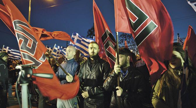 Fascismen är den sista utvägens politik