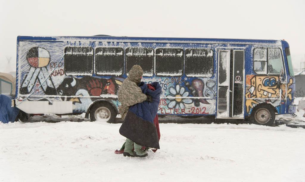 Glädje i smällkalla vintern.