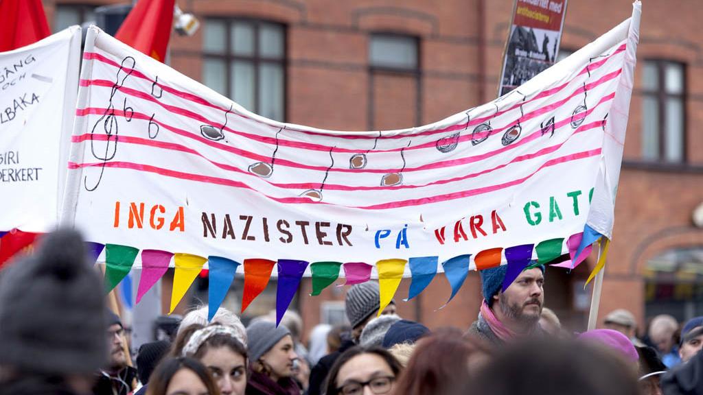 sverige vänstern nazism antifascism aktivism foto News Øresund - Johan Wessman cc webb