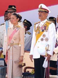 Kronprins Maha Vajralongkorn.