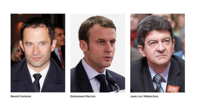 Hopp om framgång i Frankrike trots en splittrad vänster