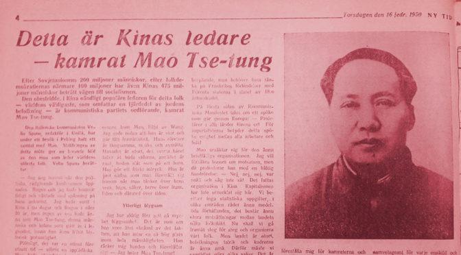 Maos tankar lever bara i retoriken