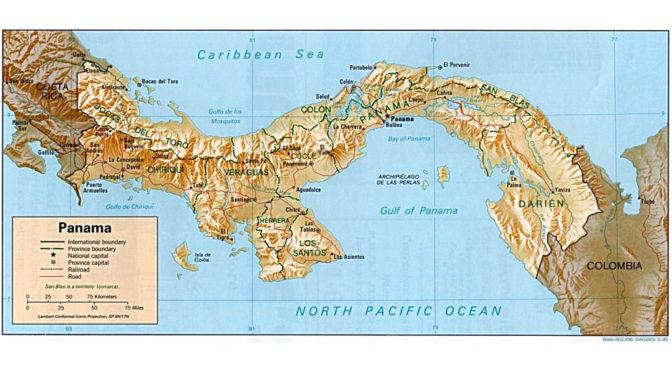 Panama: en vildmark av kanaler, register och regnskog