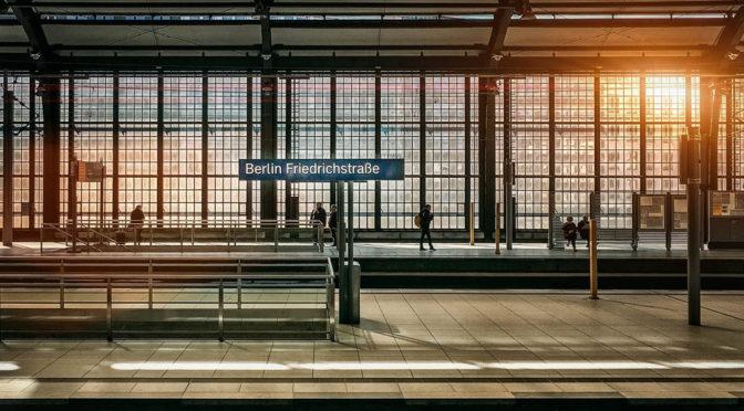 Berlins ensamma gator