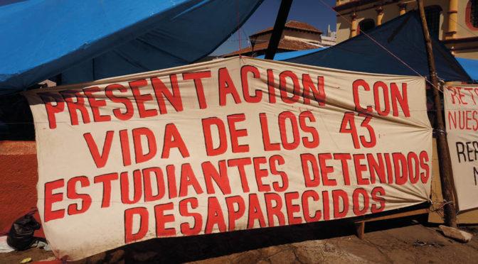 Ayotzinapas försvunna studenter