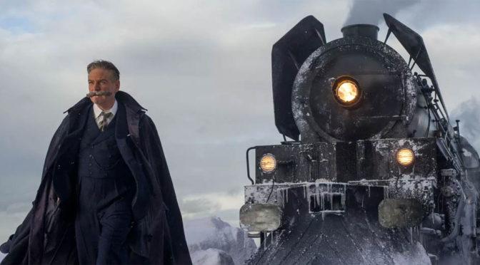 Ett tåg kommer lastat