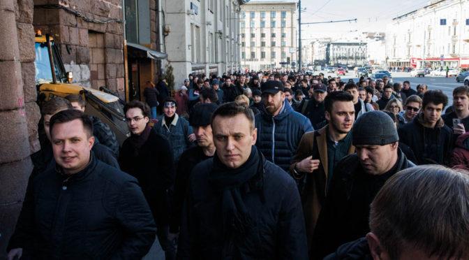 Vingklippt opposition rubbar inte Putin
