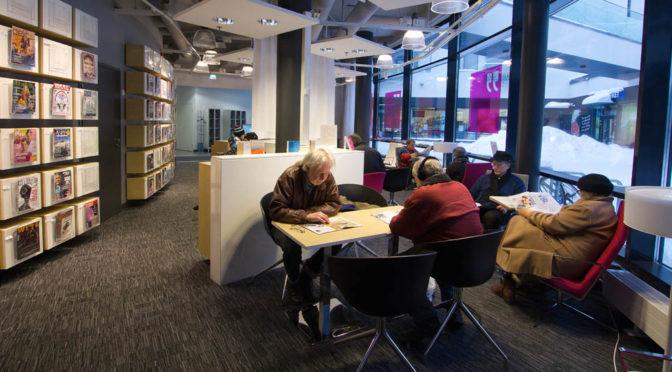 Biblioteken och de språkliga minoriteterna