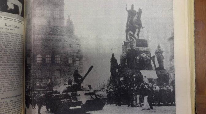 Invasionen 1968 splittrade vänstern