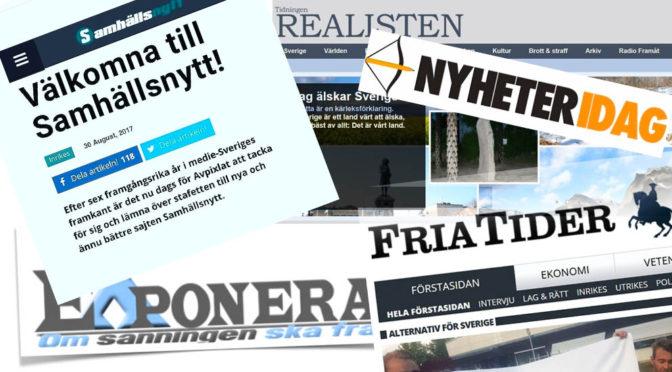 Svenskar delar mest skräpnyheter i Europa