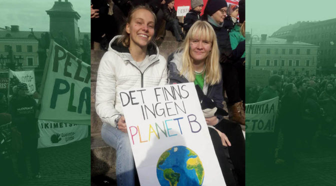 Tusentals krävde bättre klimatpolitik