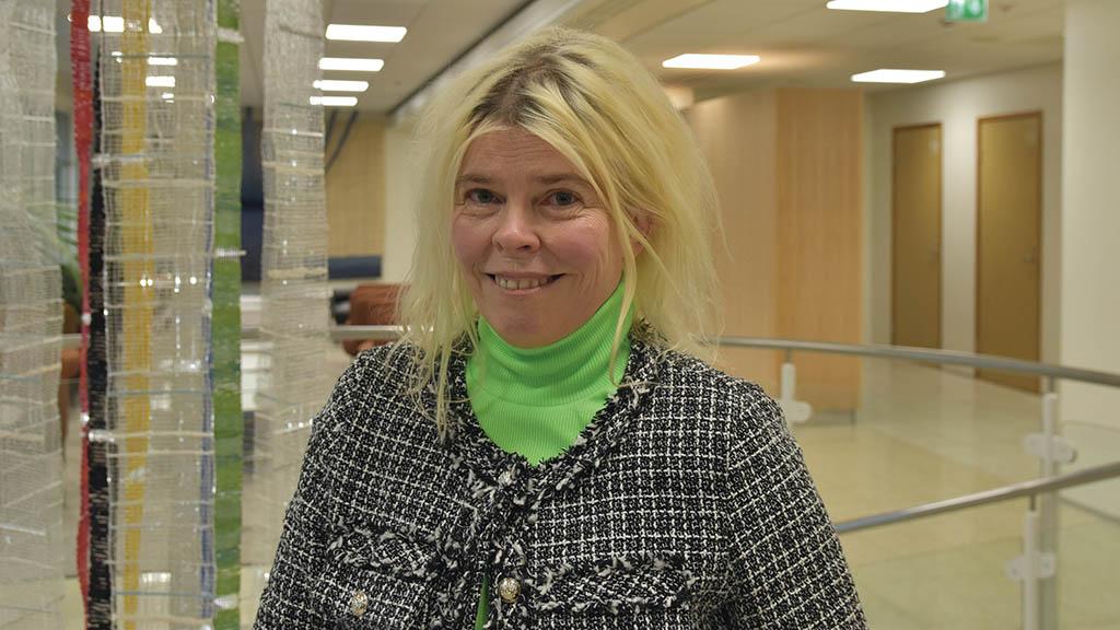 Tiina Nikkinen. Foto: Mikael Sjövall.